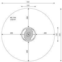 Kuva tuotteen Karuselli penkeillä V 0706-1 turva-alueesta