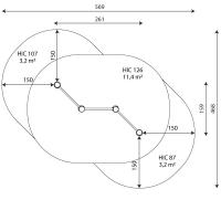 Kuva tuotteen Robinia Leukapuomi Tripla VRB 1265 turva-alueesta