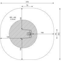 Kuva tuotteen Dippiteline V 1117 turva-alueesta