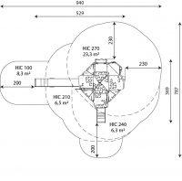 Kuva tuotteen Merlinin Torni V 3027 turva-alueesta