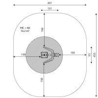 Kuva tuotteen Pendulum V 1107 turva-alueesta