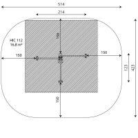 Kuva tuotteen Punnerrus- ja Voimistelutangot V 1113 turva-alue