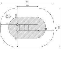 Kuva tuotteen Punnerrustangot V 2301 turva-alueesta