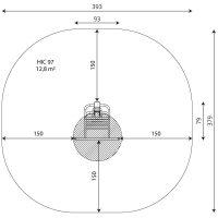 Kuva tuotteen Puolapuut Leuanvetotangolla V 1102 turva-alueesta