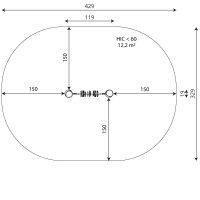 Kuva tuotteen Robinia Geometriset Kuviot VRB 1342 turva-alueesta