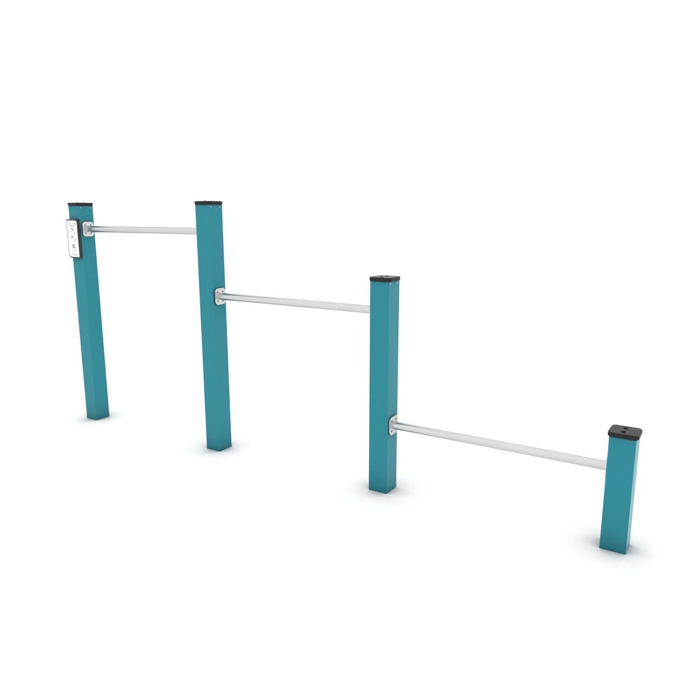 Kuva tuotteesta Voimistelu- ja Punnerrustangot V 2304, Sininen