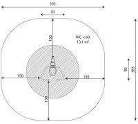 Kuva tuotteen Yläveto- ja pystypunnerruspenkki V 1105-1 turva-alueesta