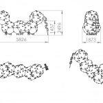 Kuva tuotteen Kiipeilykuutiot 5 CCK-005 mitoista