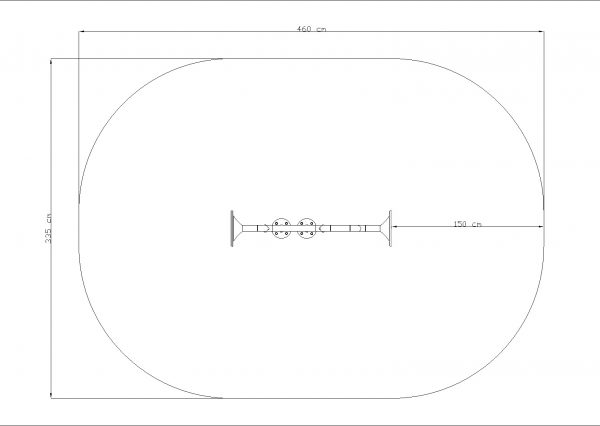 Kuva tuotteen Resonanssiputki 1 K560.070.011.001 turva-alueesta