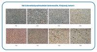 Värivaihtoehdot betoniosille, Kivipesty betoni