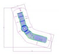 Kuva tuotteen Kiipeilyverkko Aalto 3 MP-KV4 turva-alueesta